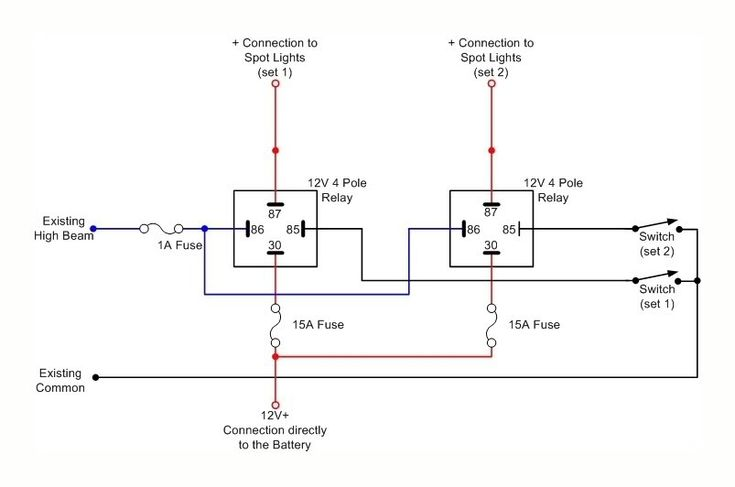 Toyota Hilux Cree Led Light Bar, Wiring Diagram Spotlights