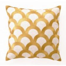 Dl Rhein Scales Pillow Citron Apartment Time