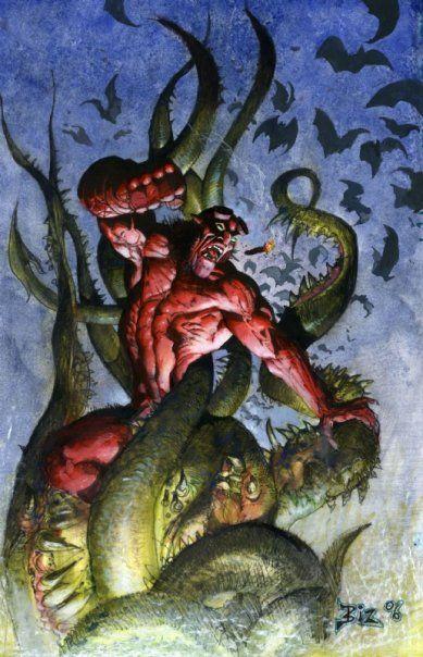 Hellboy by Simon Bisley