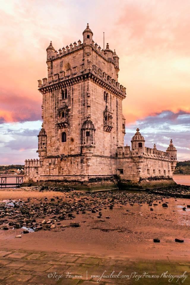Torre de Belém, Lisboa - Portugal ---- http://pt.wikipedia.org/wiki/Torre_de_Bel%C3%A9m
