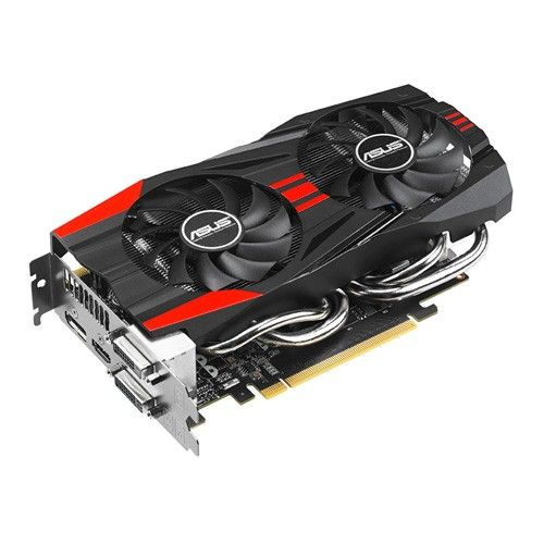 TARJETA DE VIDEO ASUS NVIDIA GFORCE GTX760 DC2OC 2GB DDR5 #specialtech