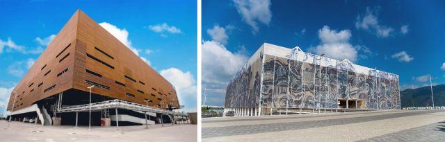 Arena do Futuro e Estádio Aquático Olímpico