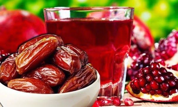 eniaftos: Handful Of Dates And Pomegranate Juice Protect The Heart From Infarct