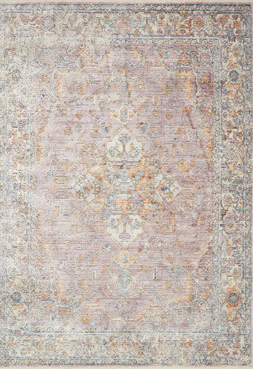 Ophelia OE-04 Berry/Multi Area Rug – Magnolia Home By Joanna Gaines