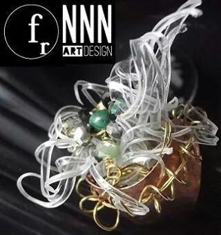 "Anello  ""Ciuffo molecolare ""  Fashion Resource & NNN art-design"