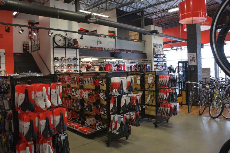 Intérieur de la boutique Bicycles Quilicot de Laval