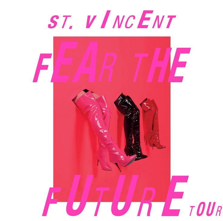 GoRockfest.Com: St. Vincent Tour Dates 2017