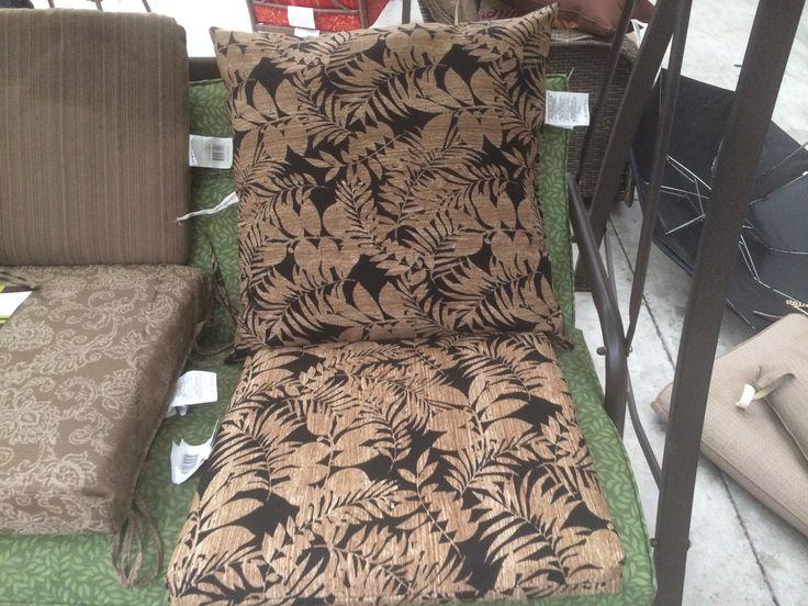 Patio chairs cushion option
