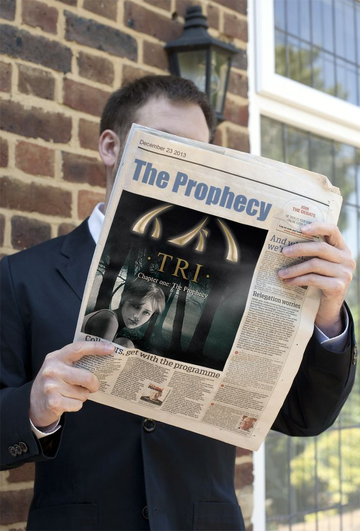 TRI - Chapter one: The Prophecy is available... Booktrailer: http://youtu.be/9m9a8Dv_T9k Ebook: http://www.amazon.com/dp/B00H7NOQU8 Site: http://www.prophecy-of-tri.com/books-english/ Free preview: http://www.prophecy-of-tri.com/wp-content/uploads/2012/01/Tri-The-Prophecy_preview.pdf