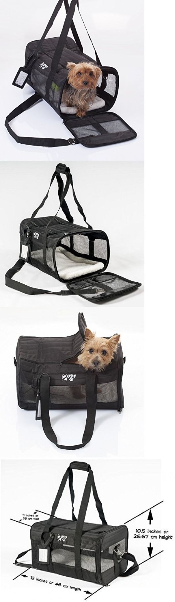 Carriers and Totes 177788: Dog Cat Pet Airline Approved Carrier Cabin Travel Crate Cage Kennel Transport -> BUY IT NOW ONLY: $32.97 on eBay!