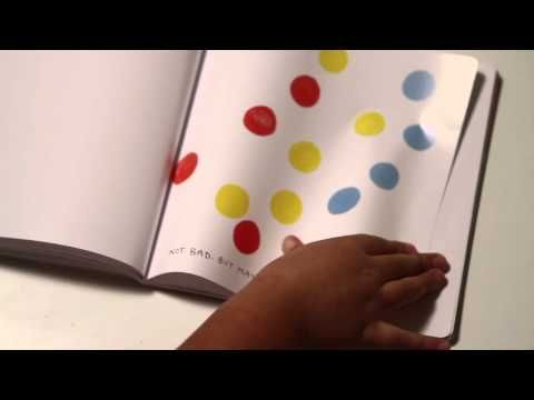 PRESS HERE by Herve Tullet -- Book Trailer - YouTube