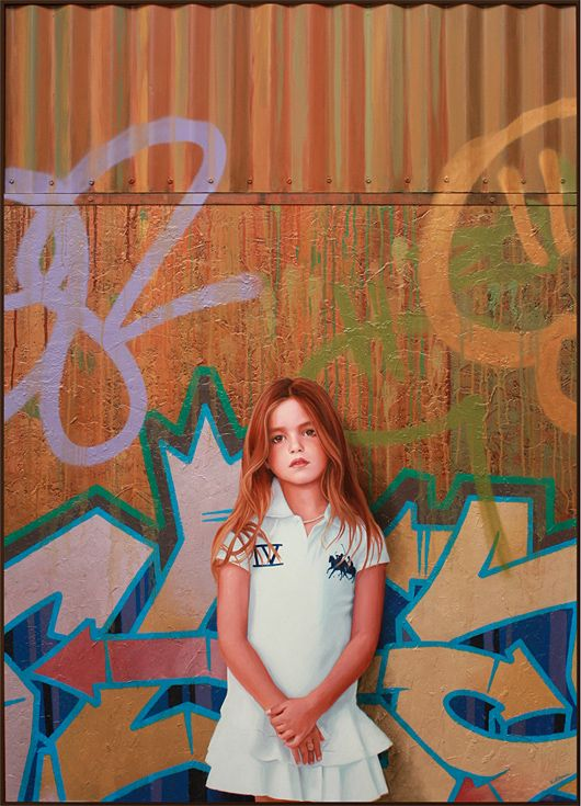 Photorealistic Graffiti Paintings by Kevin Peterson | Inspiration Grid | Design Inspiration