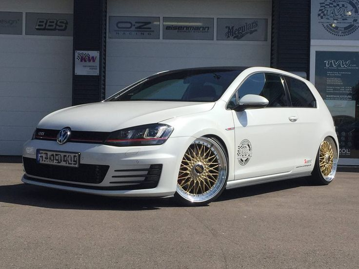 akrapovic vw golf 7 gti bbs super rs tuning tvw 8 golf. Black Bedroom Furniture Sets. Home Design Ideas