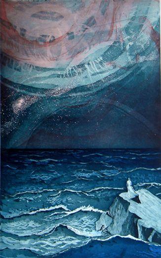 """The Astronomer"" by Finnish artist Sari Bremer (2005)."