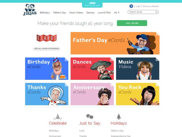 11 Places to Find Free Ecards With All the Fun and None of the Hassle: JibJab's Free Ecards