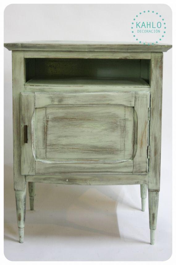 Mesas de Luz - Vintage y Reciclado - Muebles Artesanales - 514122