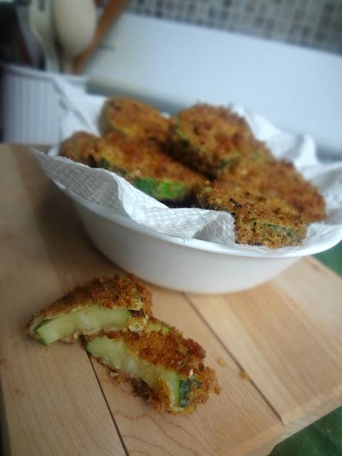 The Cooking Actress: Pan Fried Zucchini