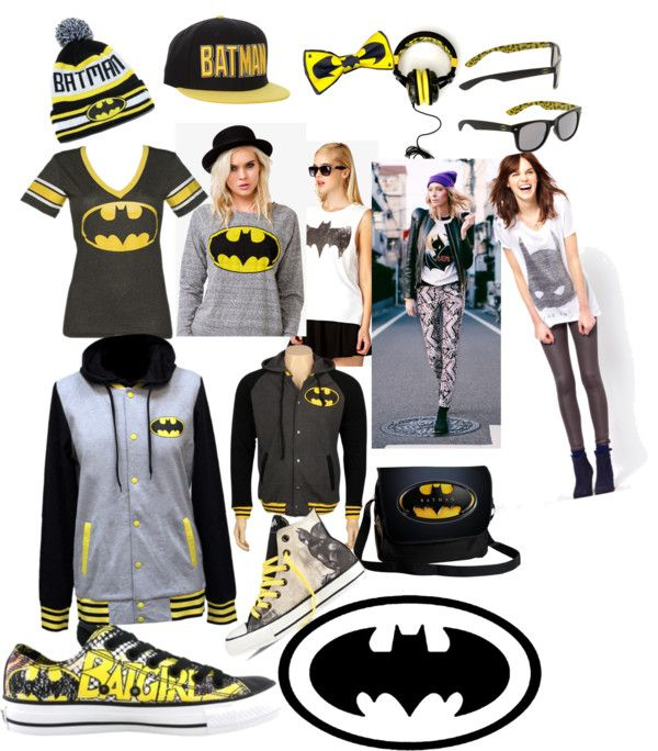 "Outfit I want is called ""batman style. ❤"" by solenn-desjardins ❤ liked on Polyvore."