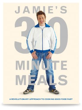 Jamie Oliver Cookery & Recipe Books | 30 Minute Meals....a God send, everything in this book is so easy to make and tastes equally delicious!