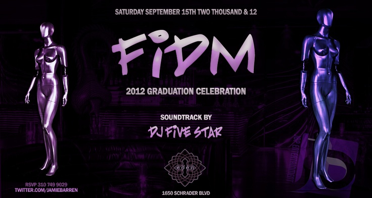 Jamie Barren presents Eden Hollywood Saturdays - September 15, 2012. Checkout the party online at - http://www.youtube.com/watch?v=rFNglmDrnRk=1     Celebration for the 2012 September Graduates of FIDM aka Fashion Institute of Design & Merchandising    RSVP via Jamie Barren 310-749.9029. VIP TABLES AVAILABLE with BOTTLE SERVICE only - ask about our insane specials! Follow for VIP at http://twitter.com/jamiebarren     Eden is located at 1650 Schrader Blvd, Hollywood CA 90028.: Angels Bar, 2012 September, Fashion Institution, Eden Hollywood, Fidm Grad, Aka Fashion, Jamie Barren, Celebrities Hotspots, Bottle Service