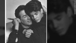 Sly with son Sage Stallone who died of heart attack