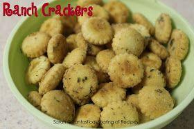 Fantastical Sharing of Recipes: Ranch Crackers