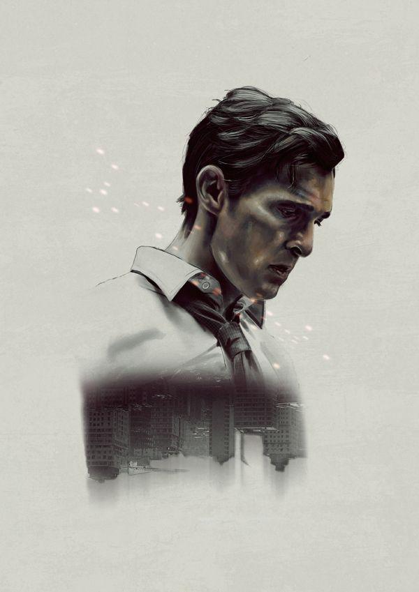 True Detective Tribute By Marc Valls Via Behance Mettyu Makkonahi Detektiv Filmy