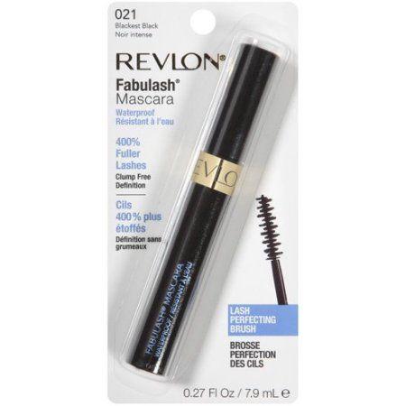 Revlon Fabulash Mascara, 021 Blackest Black, .27 fl oz