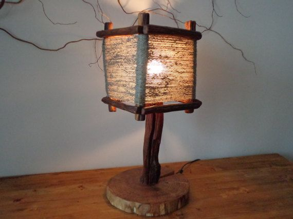 This Unusual Lamp Is Made Entirely By Hand Shade I Made