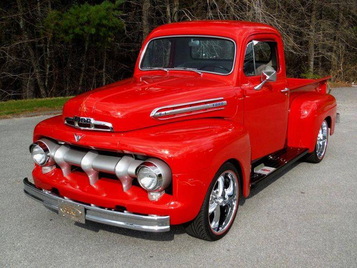 37 best images about 1951 ford trucks f100 on pinterest. Black Bedroom Furniture Sets. Home Design Ideas
