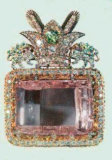 Description de l'image Darya-e Noor Diamond of Iran.png.