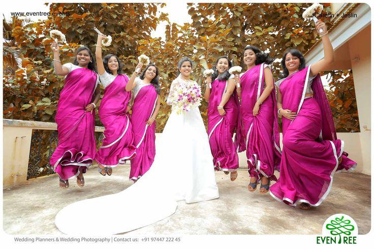 #Christian #Bride #Kerala #Wedding #WeddingPlanner #India #Bridesmaid