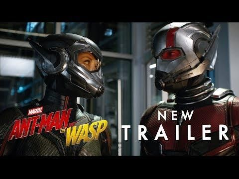 Marvel Studios Ant Man And The Wasp Official Trailer 2