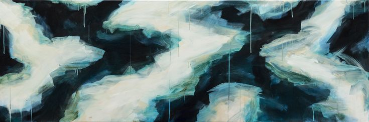 """""""Aqueous Melt II"""" by Jacquelyn Stephens. Paintings for Sale. Bluethumb - Online Art Gallery"""