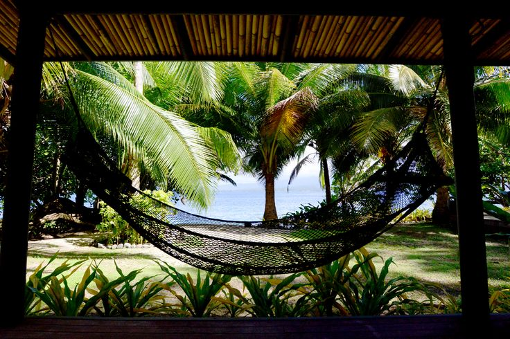 Lie back in your hammock