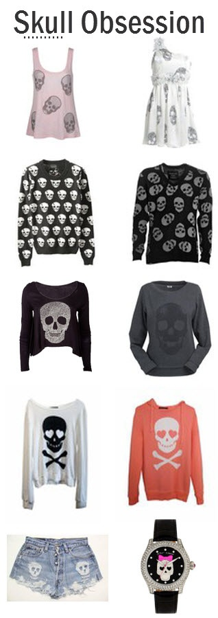 feeling skully well here are some tees you'll die for  Get it.. Die, Skull...nope. Oh well