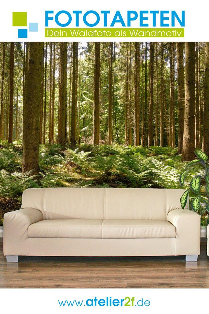 Wald Fototapete Wald Naturbilder Fur Wandgestaltung Homedesign In 2020 Fototapete Fototapete Wald Wald Tapete