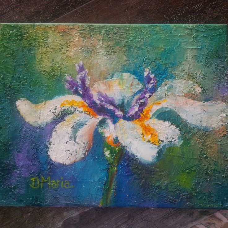 Oil painting, flower painting, colourful flower painting. A personal favorite from my Etsy shop https://www.etsy.com/listing/264093789/original-oil-painting-flower-oil