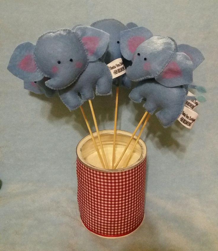 Elefantitos de 15 cm