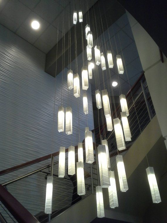 Specially designed for high ceiling spaces, modern
