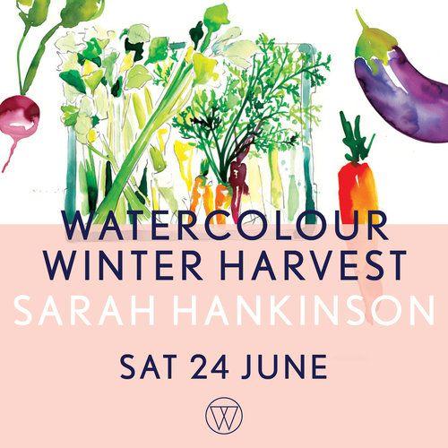 Watercolour Winter Harvest with Sarah Hankinson