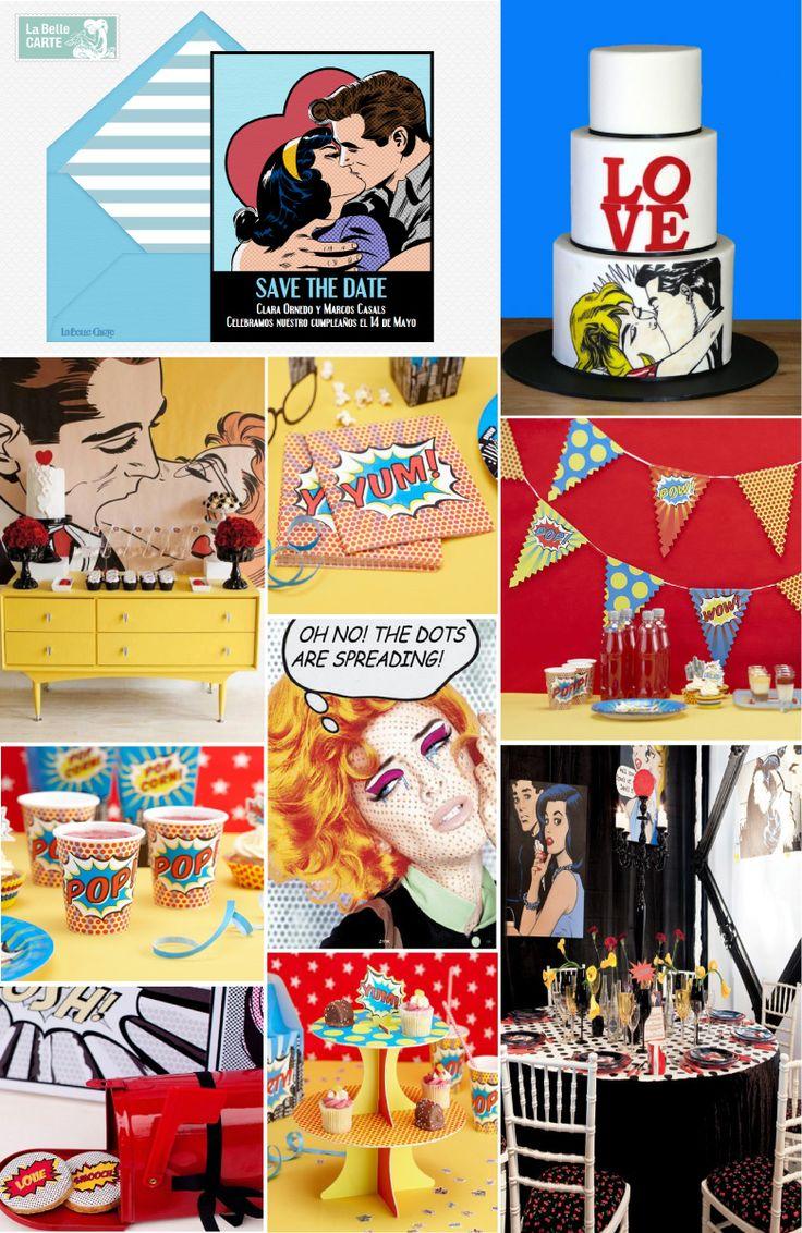 Invitaciones de cumpleaños, ideas para cumpleaños. cumpleaños estilo pop art, Fiesta Cumple Pop Art, Puntos, Colores, lunares  Para Más Info Visita: www.LaBelleCarte.com  Online birthday invitations, online birthday cards, birthday ideas, pop art birthday, polka dot party, pop art  For More Ideas: www.LaBelleCarte.com/en