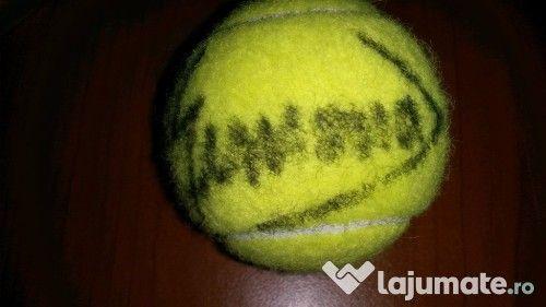 Și ție îți place Simona (Halep)? Iată o minge cu autograful ei original