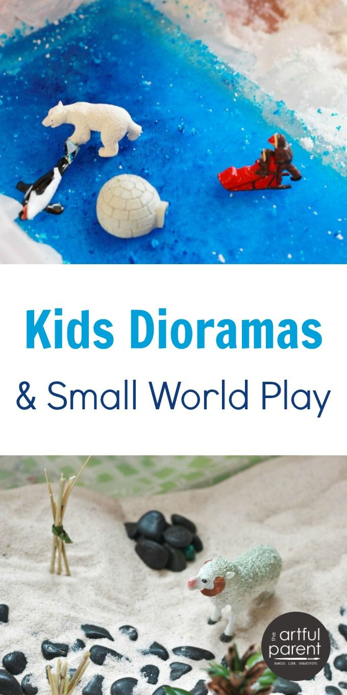 The kids dioramas and small world play ideas in Asia Citro's new book, 150+ Screen-Free Activities for Kids, have inspired my kids creations and play.