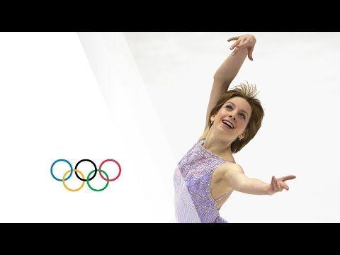 Amazing Figure Skating Gold For Underdog Sarah Hughes - Salt Lake 2002 Winter Olympics - YouTube