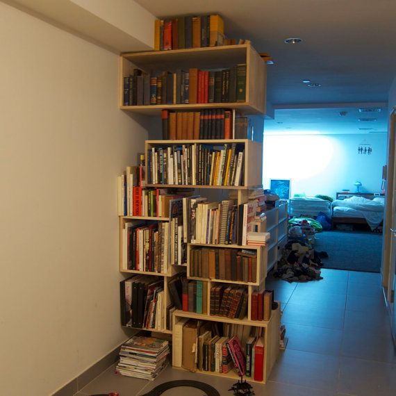 Custom Made Bookcase. Custom BookshelvesBookcasesRoom DividersStorage ...