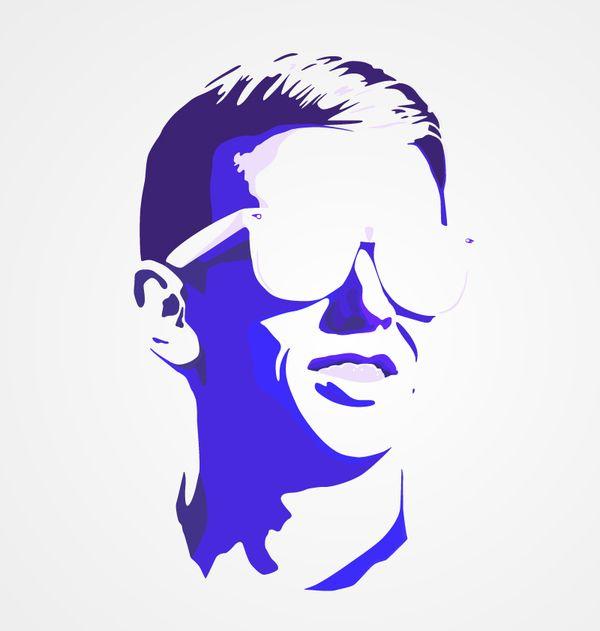 Vector-portrait #vector
