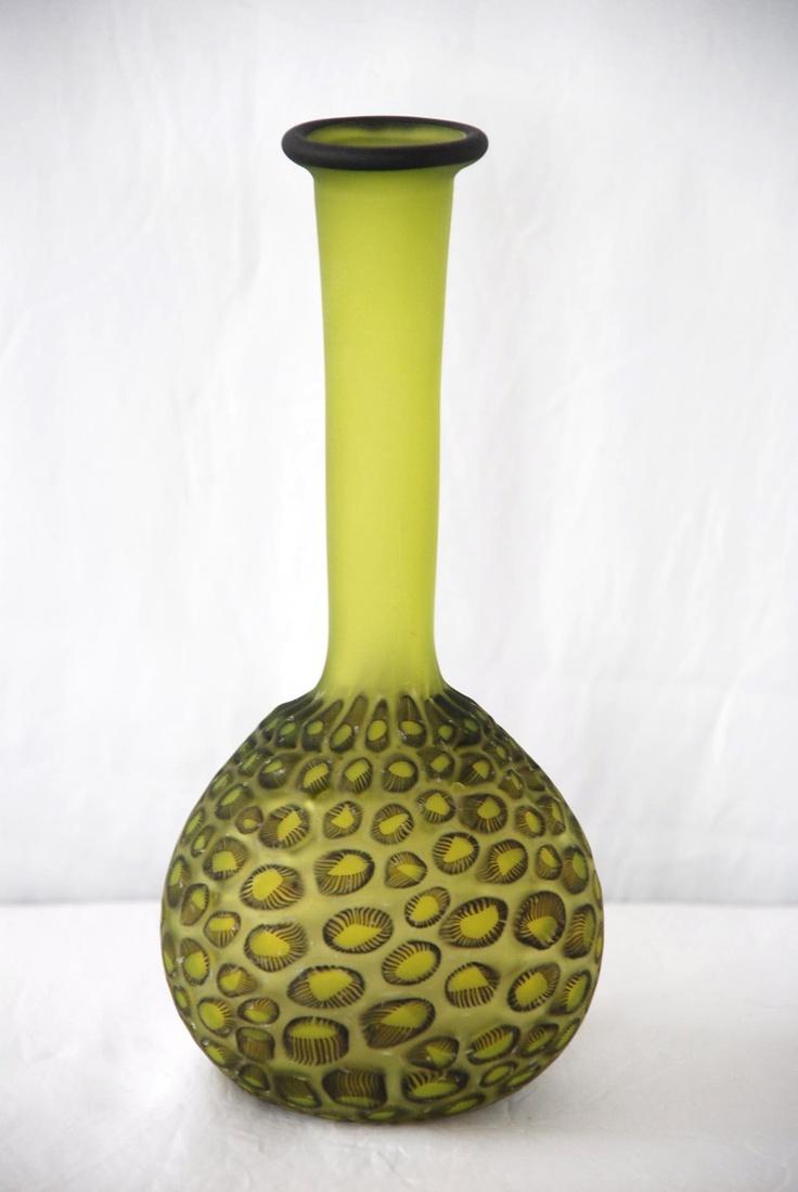 Ruth Allen Blown Glass Vase