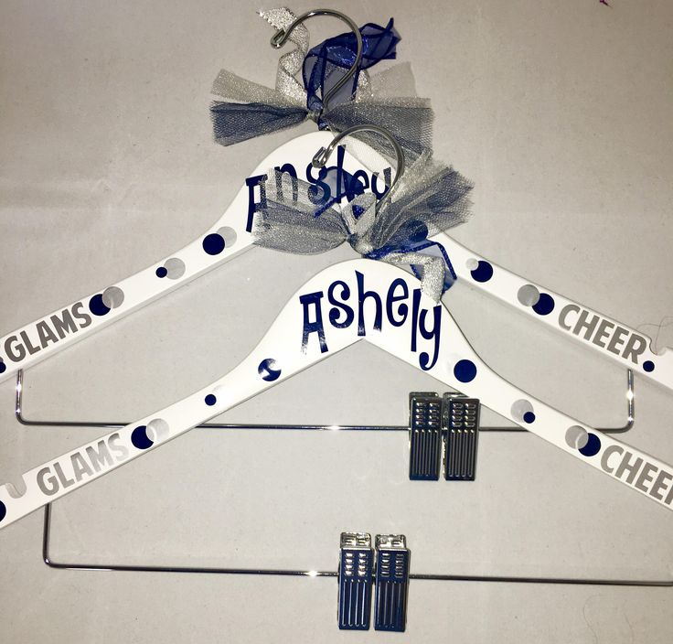 Personalized uniform hanger, cheerleaders, dance costumes, drill team, team gifts, competition gift, decorated uniform hangers by MommasCreations4you on Etsy