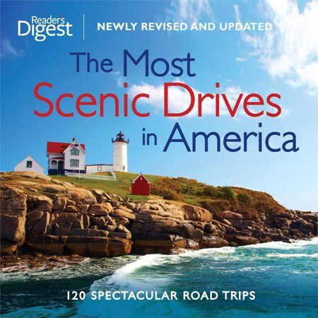 Reader's Digest -The Most Scenic Drives in America: 120 Spectacular Road Trips | List of Christmas Present for Grandparents